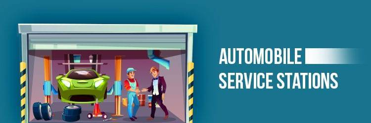 retail business ideas - automobile service stations
