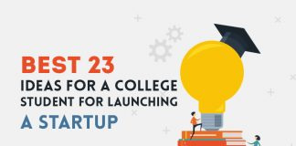 Best ideas for a college student for launching a startup