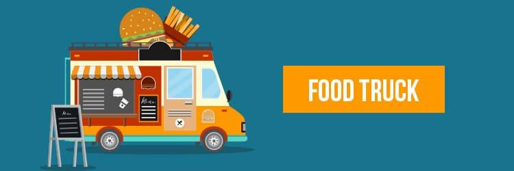 retail business ideas - food truck