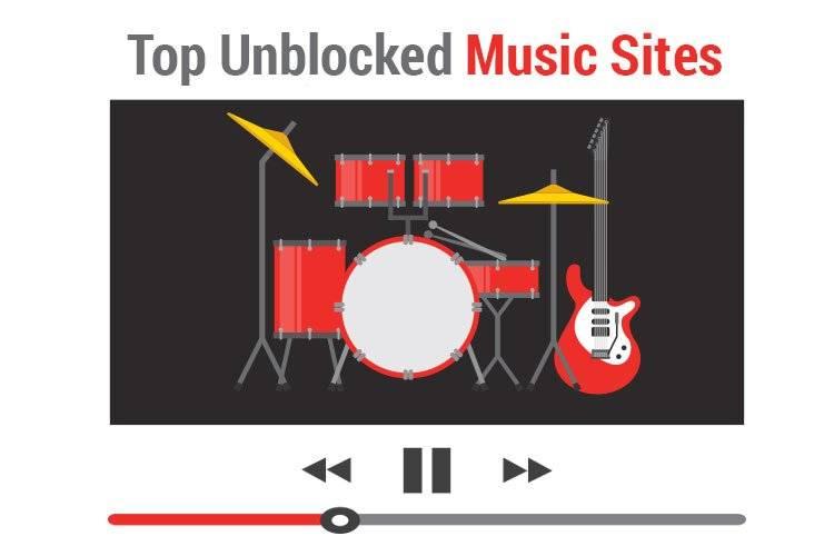 free unblocked music sites at school