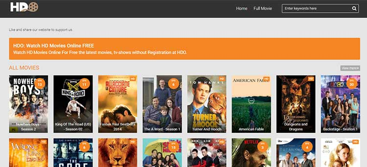 HDO Watch HD Movies Online FREE 2019