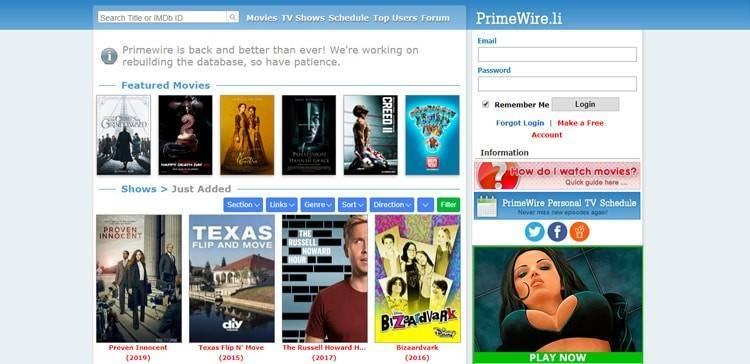 top alternative sites like viooz