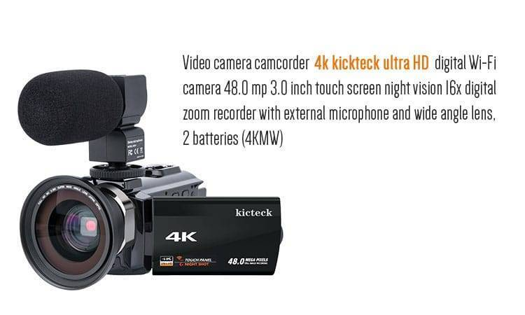 vlogging camera with flip screen