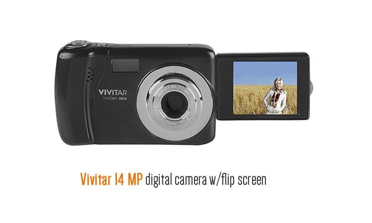 cheap cameras with flip screen