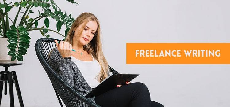 Freelance Writing - without investment business