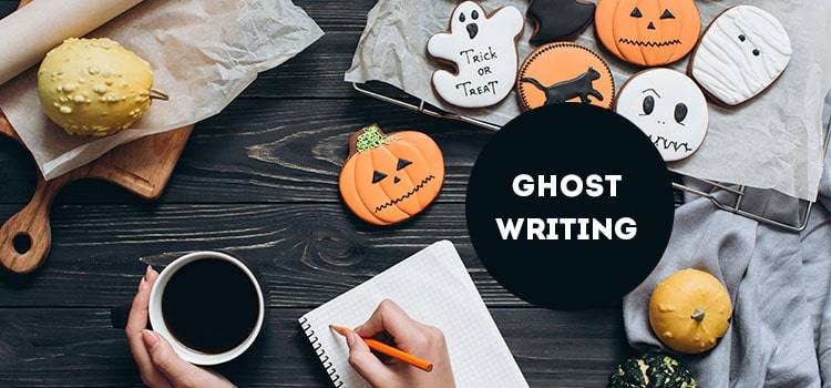 Ghost Writing without investment business