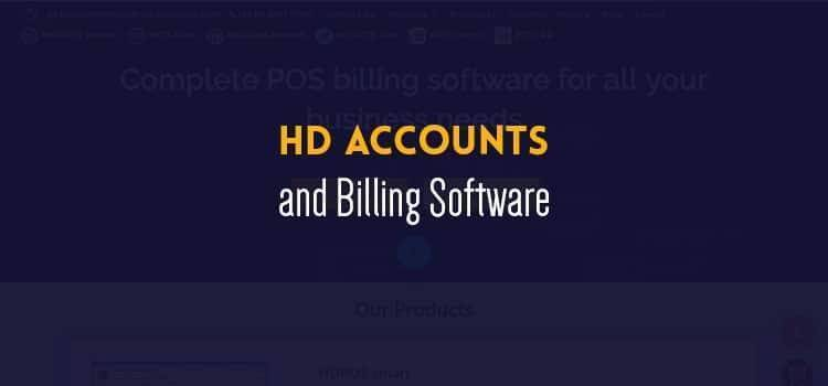 HD Accounts and Billing Software
