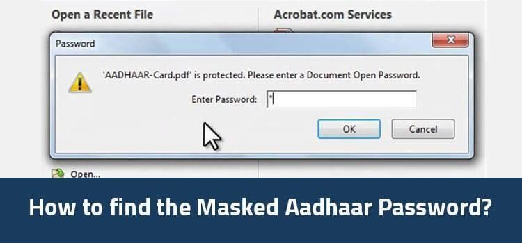 what is masked aadhaar