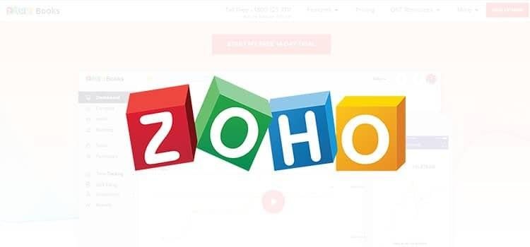 Zoho Books Account software