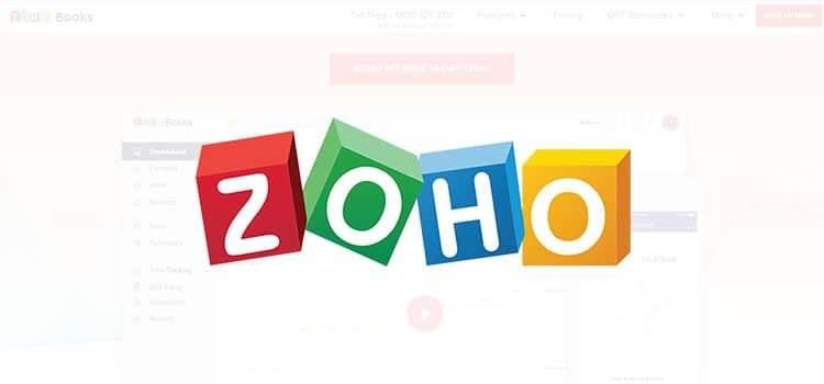 Zoho Books Account software