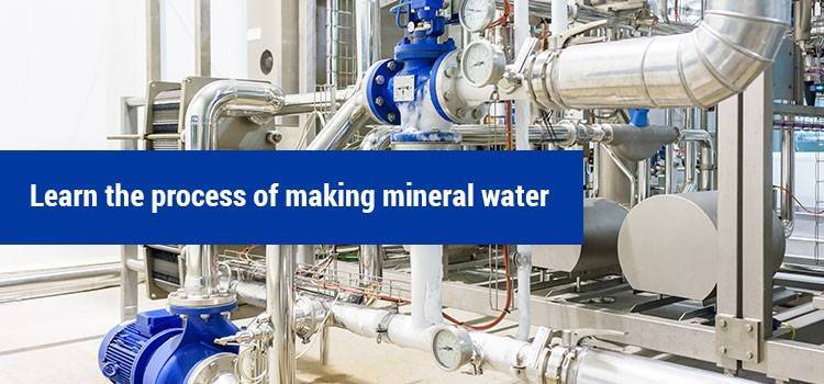 process of making mineral water