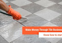 tiles business in india
