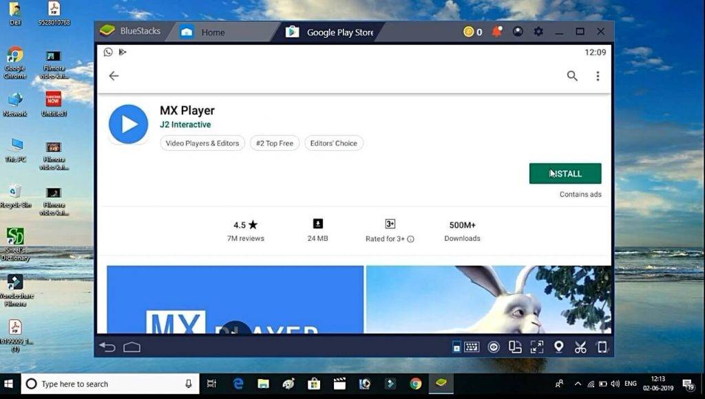 mx player installation