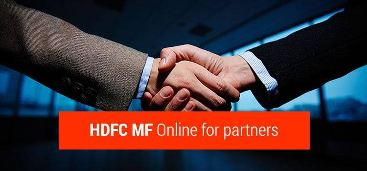 HDFC MF Online for partners