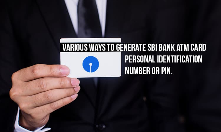how can i generate sbi atm pin by sms