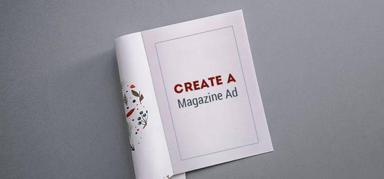 Create a Magazine Ad
