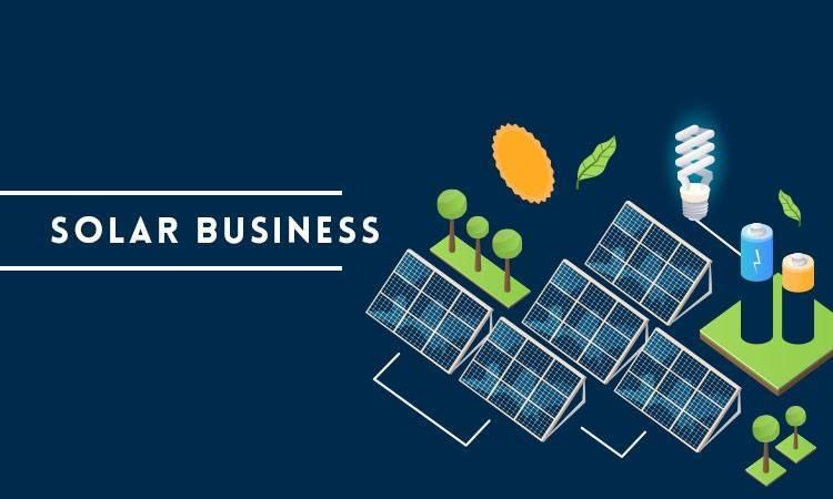 solar business ideas