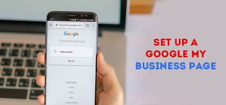 Set Up a Google My Business Page