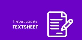 The best sites like textsheet