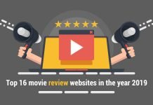 Top 16 movie review websites in the year 2019