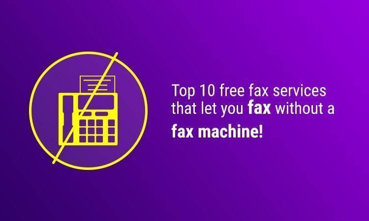 11 Best Free Online Fax Services