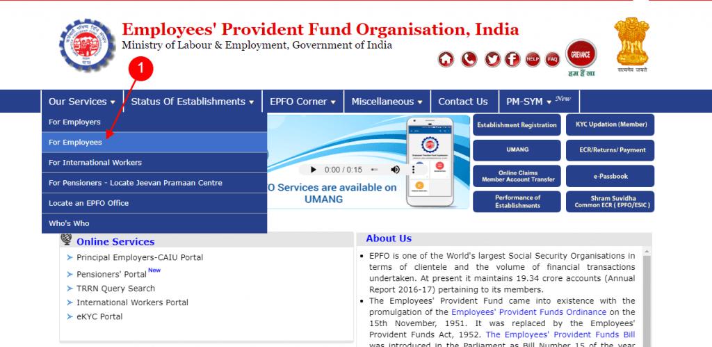 employees' provident fund organisation india