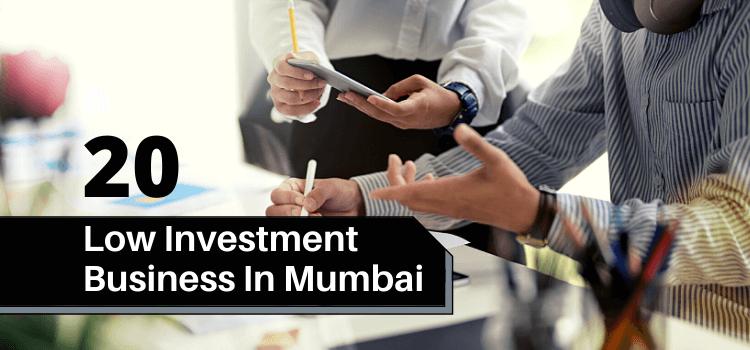 20 Low Investment Business In Mumbai