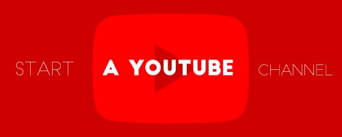 create a youtube channel
